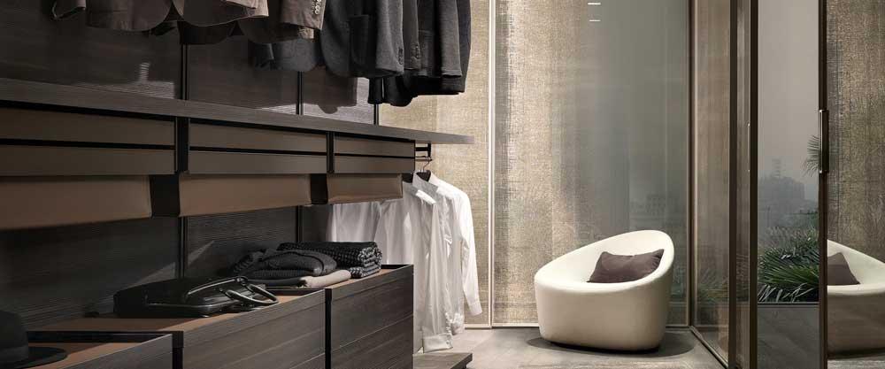 Rimadesio-Schlafzimmer, Ankleidezimmer bei Hans G. Bock in ...