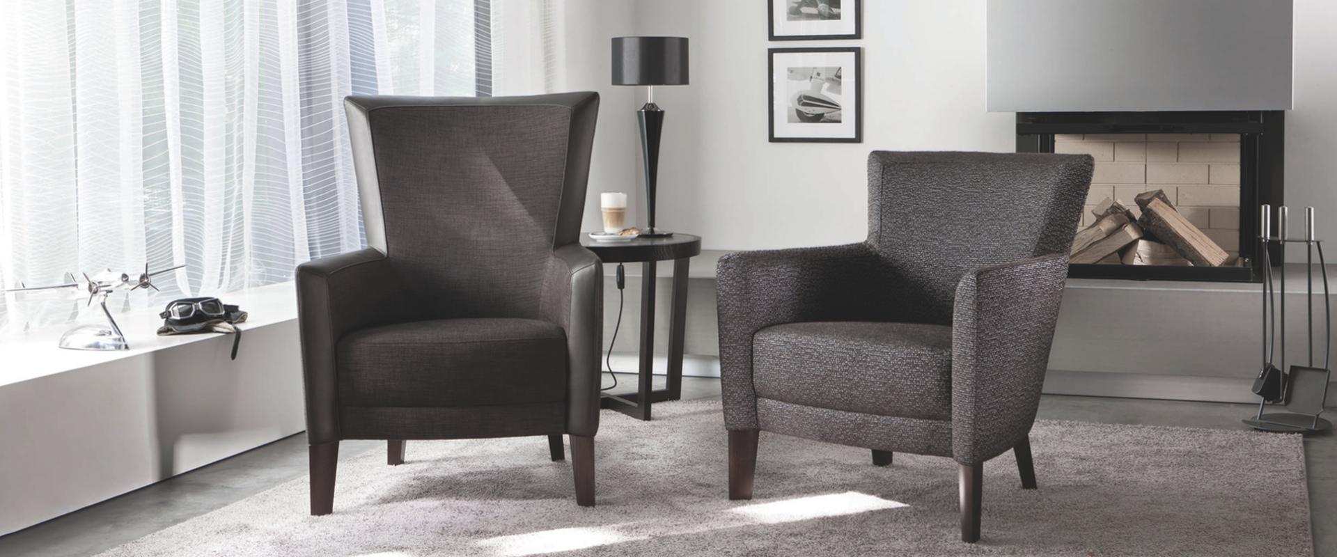 Die Sessel Don und Donna von BW Bielefelder Werkstätten finden Sie bei Hans G. Bock.
