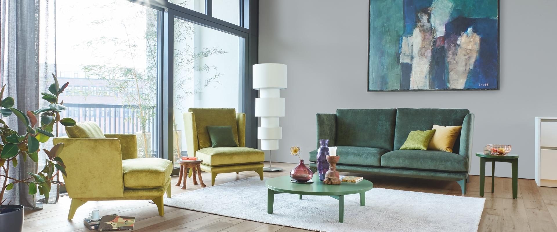 Das Sofa Polo Lounge von BW Bielefelder Werkstätten finden Sie bei Hans G. Bock.