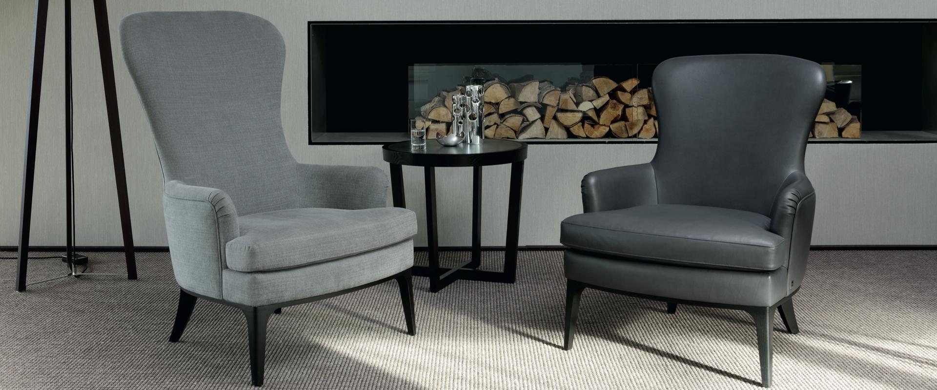 Das Sessel Dandy von BW Bielefelder Werkstätten finden Sie bei Hans G. Bock.