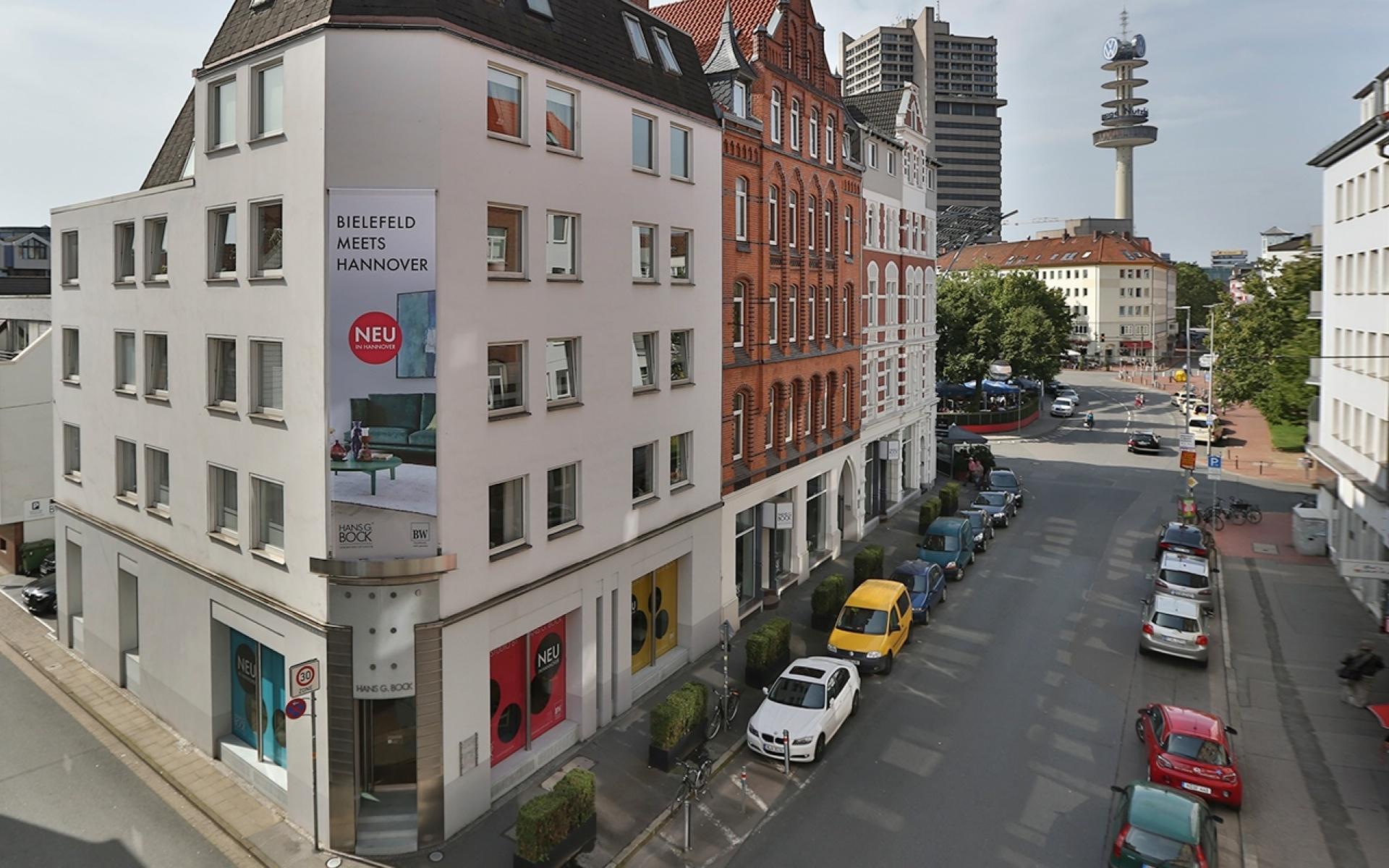 Das BW-Studio Hannover by Hans G. Bock neu in der Friesenstraße.