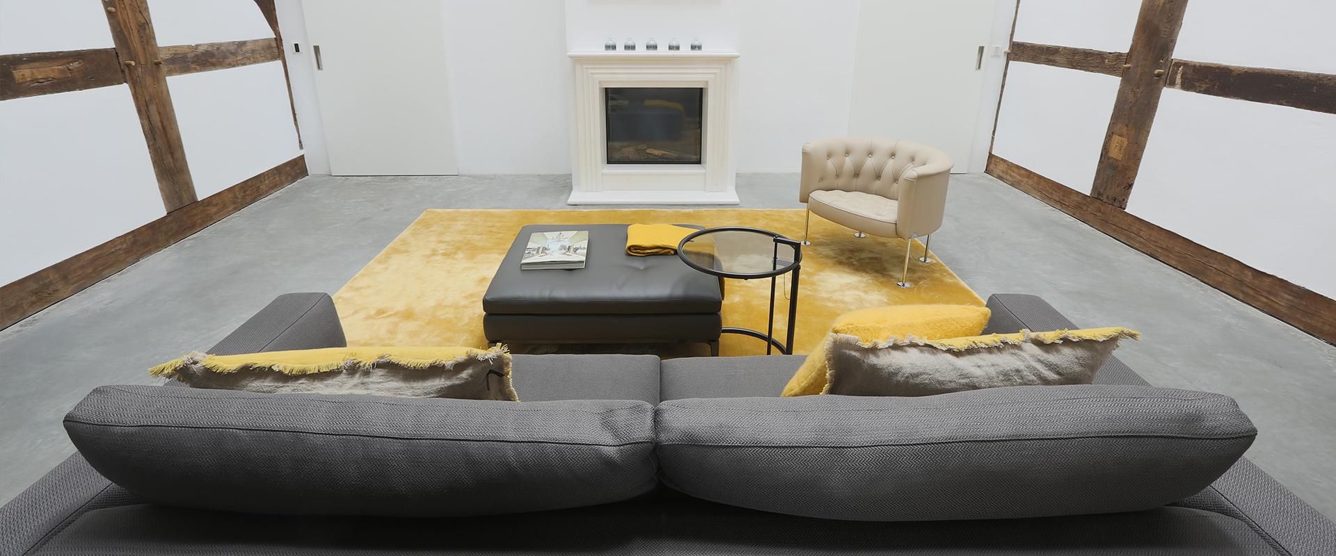 Außergewöhnlich und wertvoll: Hans G. Bock steht für moderne Inneneinrichtungen.
