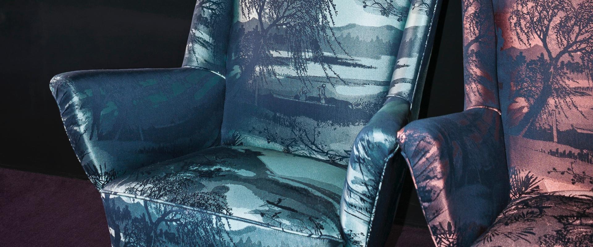 Individuelle Polstermöbel mit Stoffen von Dedar gibt es bei Hans G. Bock in Hannover.