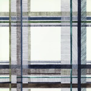 Eigenwillige Karos: Stoffe von Hermès bei Hans G. Bock in Hannover.