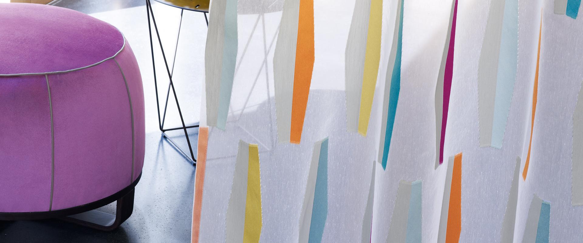 Feine Vorhangstoffe von Zimmer+Rohde gibt es in Hannover bei Hans G. Bock.