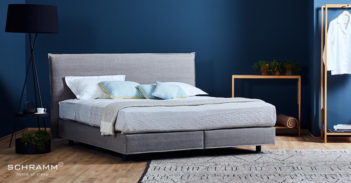 schramm boxspringbett purebed limited edition 95 bei hans g bock. Black Bedroom Furniture Sets. Home Design Ideas