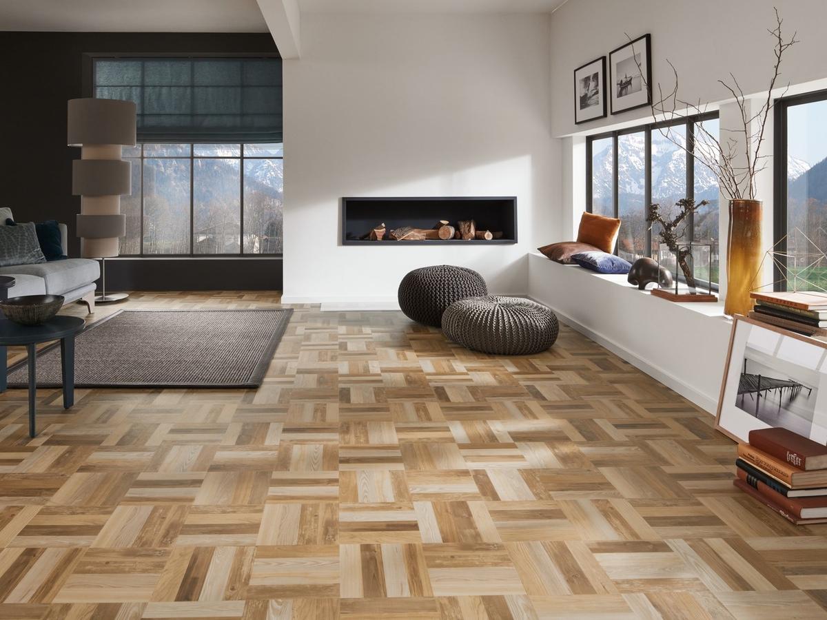 Besonders sehenswerte Bodenbeläge aus strapazierfähigem Vinyl verarbeitet Hans G. Bock in Hannover mit der Design Floor Kollektion von JAB ANSTOETZ - mit tollen Möglichkeiten der individuellen Verlegung.